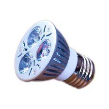 LED Strahler Lampe 3W 12V E27 warmweiss Birne Spot für Solar Inselanlagen