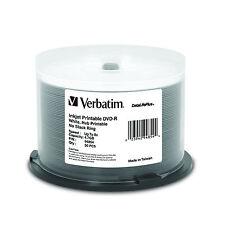 Verbatim DataLifePlus DVD-R Media 8x 4.7GB 50-Pack Spindle