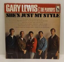 """Gary Lewis & The Playboys """"She's Just My Style"""" 1966 Liberty LRP-3435 Mono LP"""
