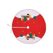 Faldón para árbol Noel 120 cm decorado.