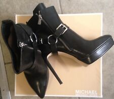 Michael Kors Women's Booties SIZE 10 Black Ankle Boot NWB