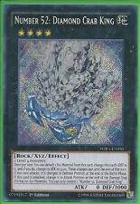 Yugioh WIRA-EN050 Number 52: Diamond Crab King 1st Ed Secret