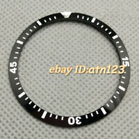 41mm Luminous Black Ceramic Watch Bezel Insert Accessories Fit Men's Wristwatch