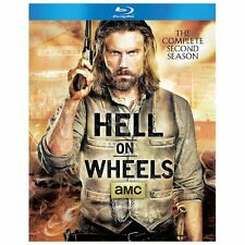 Hell on Wheels: The Complete Second Season (Blu-ray Disc, 2013, 3-Disc Set)