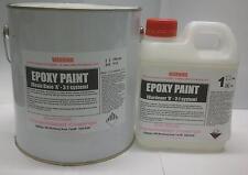 4Ltr kit White Epoxy Flowcoat - 3:1 ratio (FREE FREIGHT)