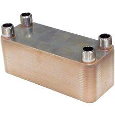 """Edelstahl Platten Wärmetauscher 1"""" NORDIC TEC 175-450kW Plattenwärmetauscher 25"""