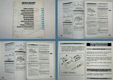 Quicksilver 230 270 330 380 Betriebsanleitung Owners Manual 1995