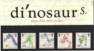 GB 1991 Dinosaurs - Presentation Pack 220