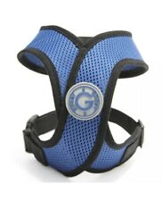 Gooby Comfort X Small Dog  Head-in Harness Blue Small