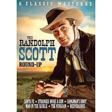Randolph Scott Roundup Vol 2 6 Films DVD