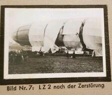 1933 Zeppelin Weltfahrten Cigarette Card German V1 Photo 7 LZ2 Zerstorung