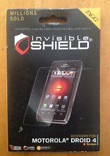 ZAGG Invisible Shield/ Screen Protector For Motorola Droid 4