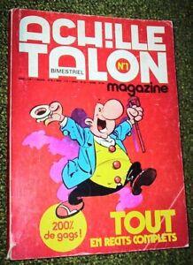 ACHILLE TALON Magazine N° 1  (1975)