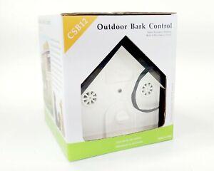 Outdoor Ultrasonic Dog Bark Control Anti Barking Device - CSB12