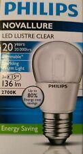 Ampoule Philips Novallure Led lustre clear 3W E27 220-240V P45 CL