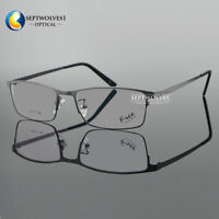 β -Titanium Full Rim Eyeglasses Frame Men's Glasses Spectacles Optical RX Able