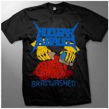 Vtg1988 NUCLEAR ASSAULT BRAINWASHED  heavy catton t shirt gildan reprint