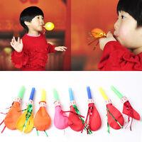 10pcs whistle Balloon Post trumpet kids child birthday holiday Balloon,Toys