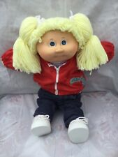 "1985 VTG CABBAGE PATCH KIDS Original Box/paperwork Girl ""Geniveve"" Signed CLEAN"