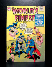 COMICS: DC: World's Finest #113 (1960), 1st Bat-Mite/Mr Mxyzptlk team-up - RARE