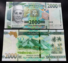 Guinea 2000 Francs , 2018 2019 , UNC , P-New , New Design