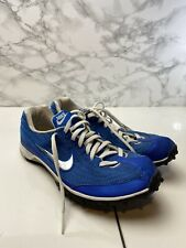 Nike Bowerman Series Track And Field UK7 BLUE RARE Running Shoes Cleats