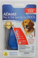 Adams Flea & Tick Spot On For Dogs 56 to 80 Pounds Includes Smart Shield