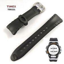 Timex braccialetto di ricambio t59221-Timex Ironman Combo 50 Lap-PU Nastro 14/18/22 mm