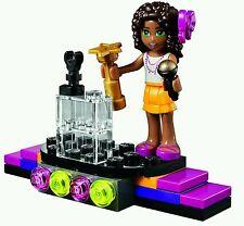 Lot of 2 - (NEW) Lego Friends Pop Star Andrea Red Carpet  (33 pcs )  #30205