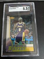 1996-97 Kobe Bryant Bowman's Best Rookie RC Mint SGC 8.5 REGRADE PSA 9?