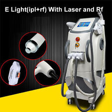 e-light ipl rf nd yag laser 4 in 1/ipl hair removal/laser tattoo removal machin