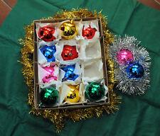 PALLINE VINTAGE per addobbo albero di Natale Anni 60 in D. cm. 5,00- Conf. da 12