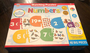 MasterPieces Numbers Match Puzzle