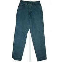 Wrangler Lucille Oldschool Jeans Hose Karotte schnitt 80er legendär Blau NEU
