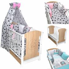 Babybett Kinderbett Sonoma Bettset MOND Minky Matratze Schublade 120x60 Sofa NEU