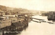 RPPC Hawley Pulp & Paper Co. OREGON CITY 1952 Vintage Postcard