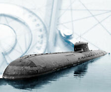 "Model Boat Plan 40"" Radio Control Russian Charlie Class Submarine Plan & Article"