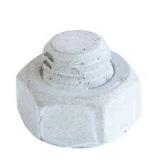 DekoFux Gewindemutter groß 3D Wandgestaltung, Stein, Zementgrau, 35 Stück