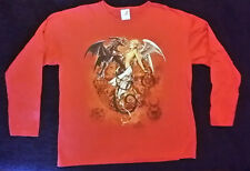 Alchemy Gothic The Chemical Wedding Long Sleeve T-Shirt Women's Mens XL Red New