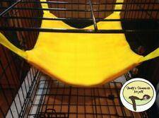 Cosy large hammock ferret,rat,chinchilla,degu. Small Pets . Yellow