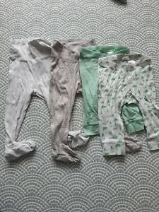 H&M Baby Boy Leggings With Feet 6-9 Months