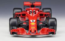 2018 Bburago 1:18 Ferrari F1 SF71H NO.5 Sebastian Vettel Metal Model Racing Car