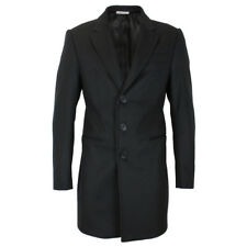Armani Collezioni - Black T Line Overcoat - 56/UK46 - *NEW WITH TAGS* RRP £750