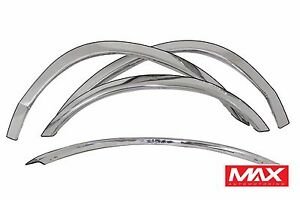 FTFD206 98-02 Ford Crown Victoria Mercury Grand Marquis Stainless Fender Trim