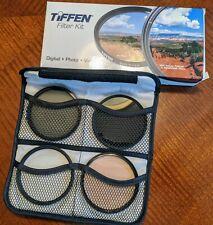 Tiffen 77mm lens filter kit, UV, CP, 812 Warm plus ND8