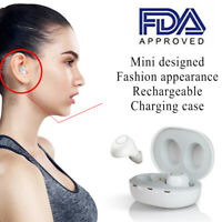 Fashion Rechargeable Hearing Aids In the Ear Amplifier Sound Mini Set Small US