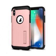 Fundas y carcasas Spigen color principal rosa para teléfonos móviles y PDAs Apple