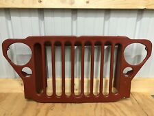Military Jeep Grille Willys MB & Ford GPW 1941-1945 Reproduction 9 Slats grill
