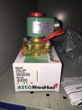 ASCO Valve #R8210A107  120vac/60htz – 110vac/50htz New In Original Packaging