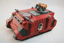 Warhammer Space Marine Blood Angels Razorback Well Painted